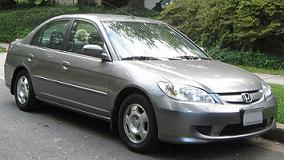 2003 honda civic hybrid a used review. Black Bedroom Furniture Sets. Home Design Ideas